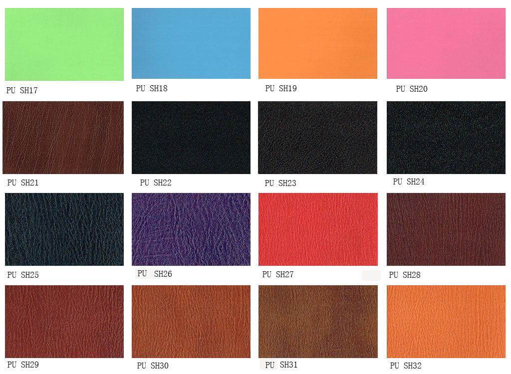 PU material for notebook cover