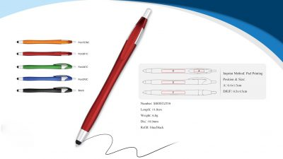 Plastic touch pen