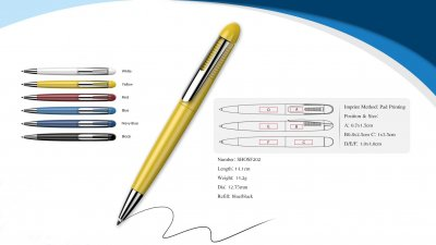 Braver twist action pen