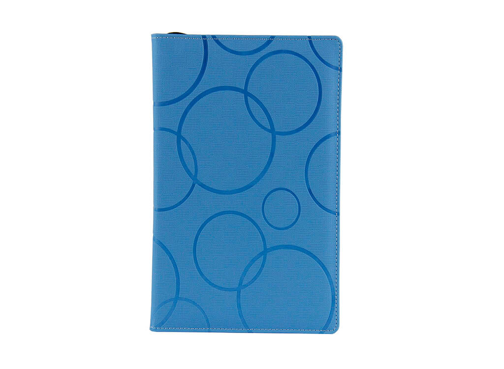 blue leather diary china