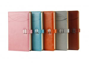 plain pu leather journal factory