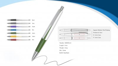 rainbow promotional pen