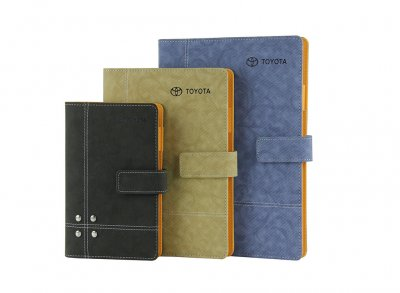 quality textured PU notebook